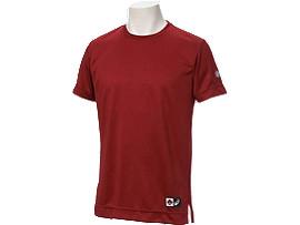 Tシャツ半袖, エンジ