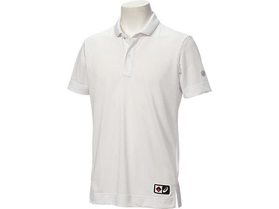 ポロシャツ半袖, ホワイト