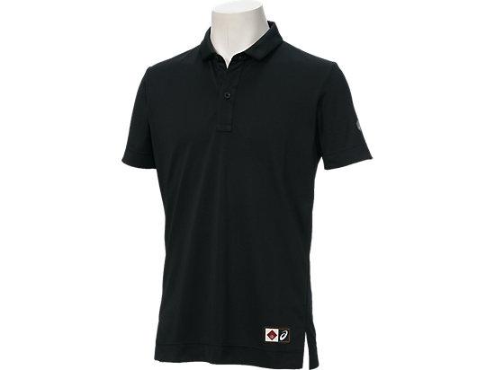 ポロシャツ半袖, ブラック