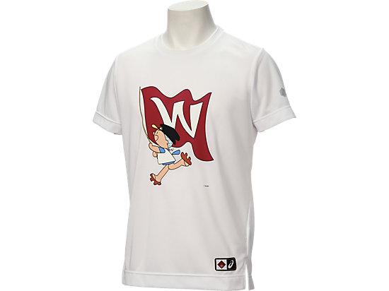 フクちゃんTシャツ半袖, ホワイト