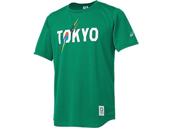 Tシャツ(東京2020オリンピックエンブレム), グリーン