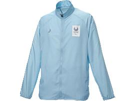 ウインドジャケット(東京2020パラリンピックエンブレム), サックス