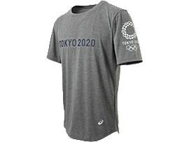 Tシャツ(東京2020オリンピックエンブレム), グレー杢