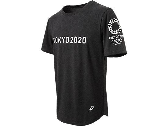 Tシャツ(東京2020オリンピックエンブレム), ブラック杢