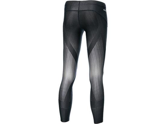 男式运动紧身长裤 EX support 深灰色
