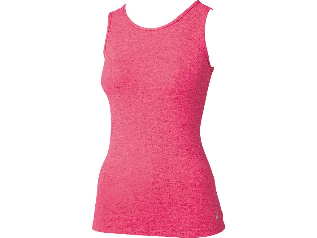 W'S肩バランスアップ®NSシャツ:マゼンタ杢