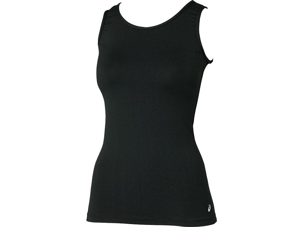 W'S肩バランスアップ®NSシャツ:ブラック