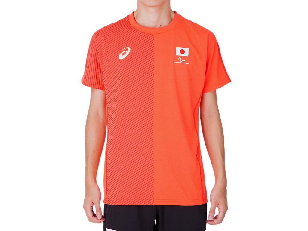 Tシャツ(JPCエンブレム):サンライズレッド