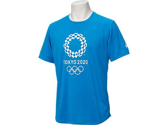 Tシャツ(東京2020オリンピックエンブレム), ブルー