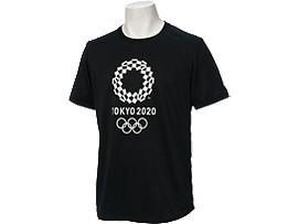 Tシャツ(東京2020オリンピックエンブレム), ブラック