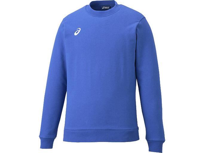スウェットシャツ, ブルー