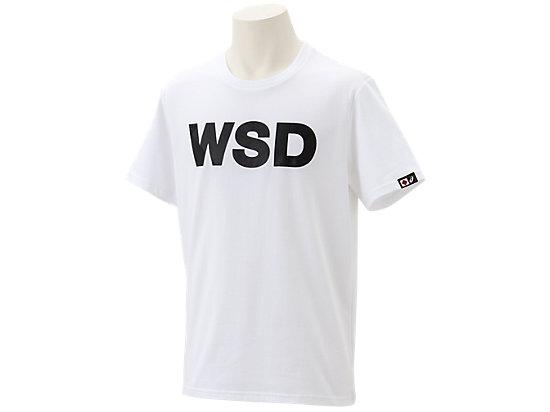 WSDシャツ半袖, ホワイト