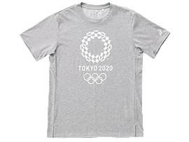 Tシャツ(東京2020オリンピックエンブレム), グレーモク