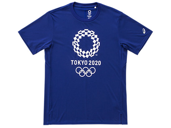 Tシャツ(東京2020オリンピックエンブレム), EMネイビー