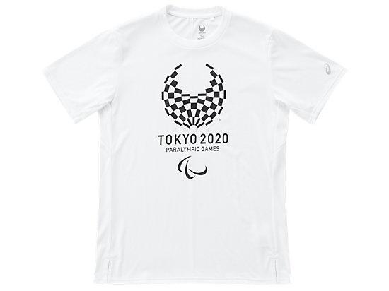 Tシャツ(東京2020パラリンピックエンブレム), ホワイト