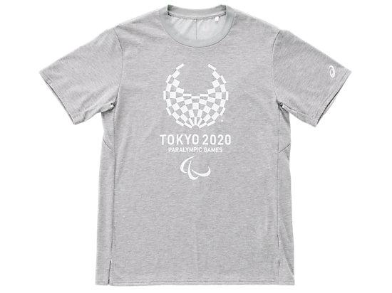 Tシャツ(東京2020パラリンピックエンブレム), グレー杢