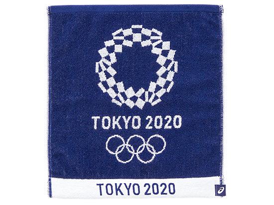 ジャカードハンドタオル(東京2020オリンピックエンブレム), EMネイビー
