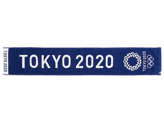 ジャカードマフラータオル(東京2020オリンピックエンブレム), EMネイビー