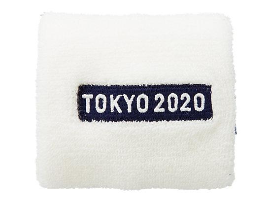 リストバンド(東京2020オリンピックエンブレム), ホワイト