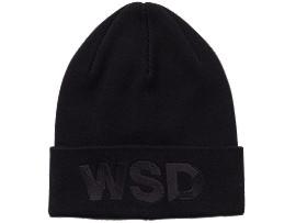WSDニットキャップ, ブラック