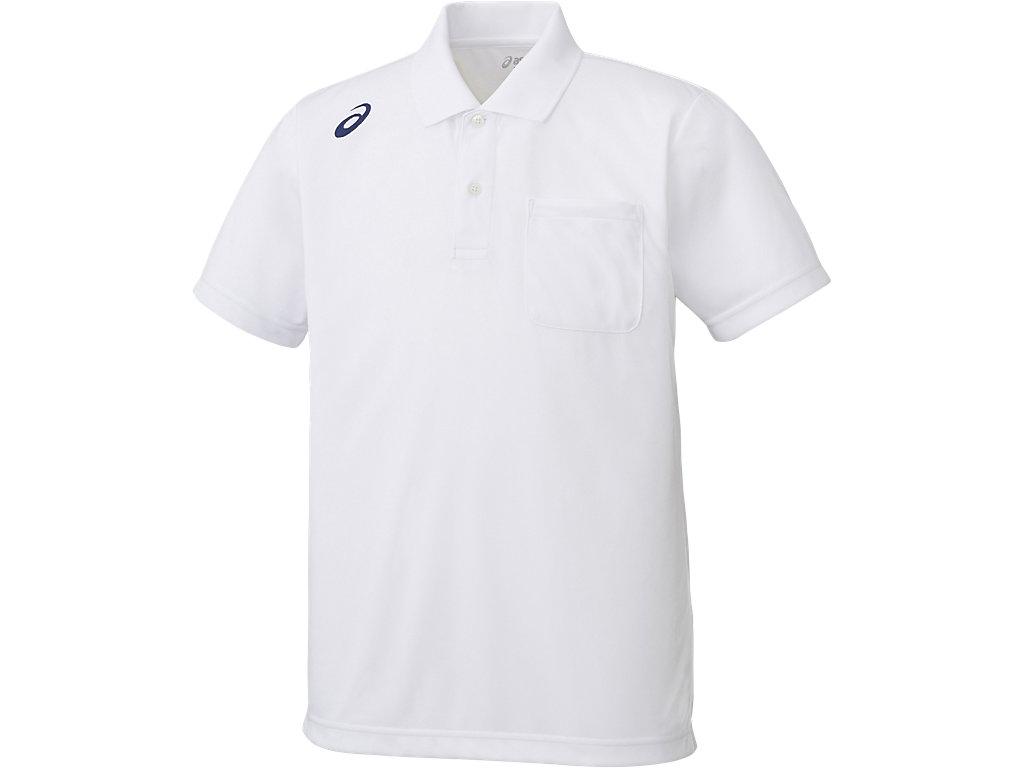 【ASICS/アシックス】 ポロシャツ ホワイト_XA6168