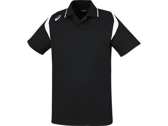 ポロシャツ, ブラック