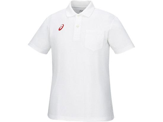 ポロシャツ, ホワイトxレッド