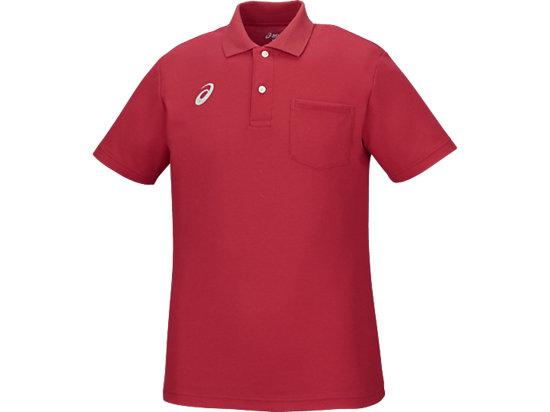 ポロシャツ, レッド