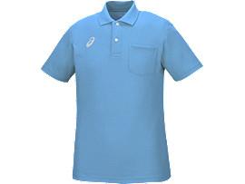 ポロシャツ, グレイッシュブルー