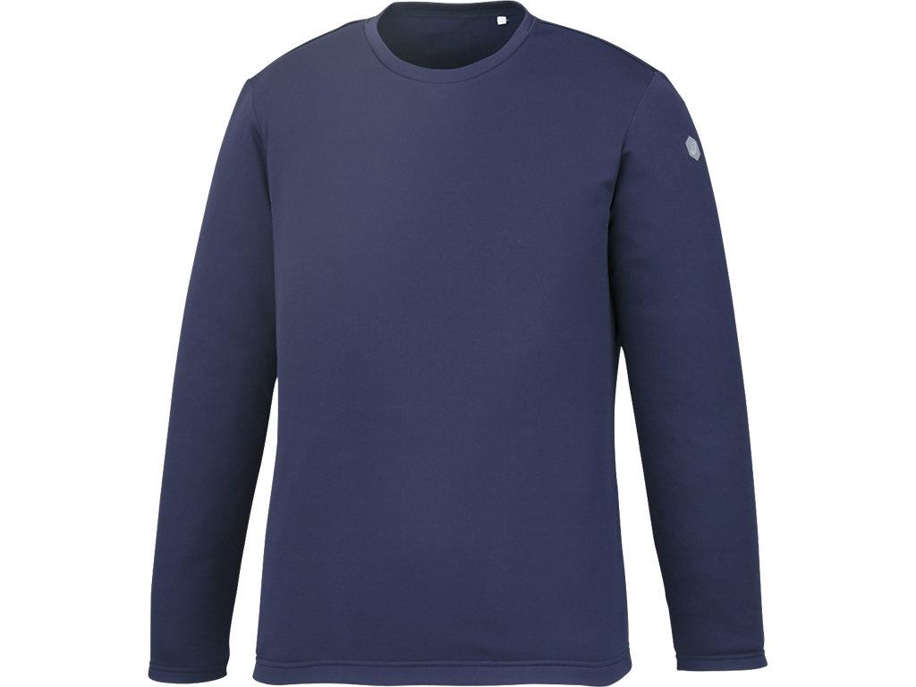 長袖シャツ:ミッドナイトブルー