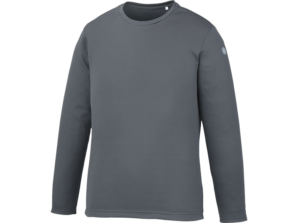 長袖シャツ:ダークグレー