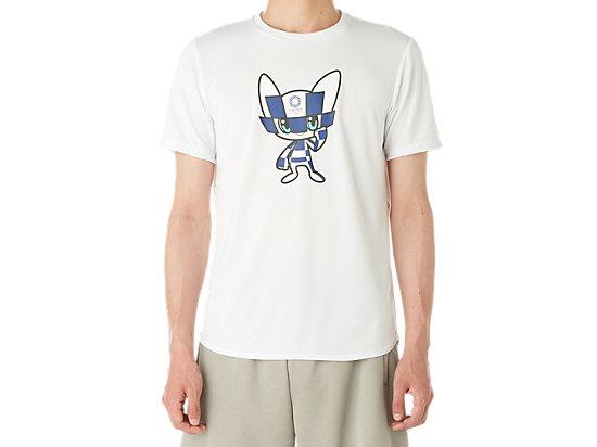 マスコットTシャツ(東京2020オリンピックエンブレム), ホワイト