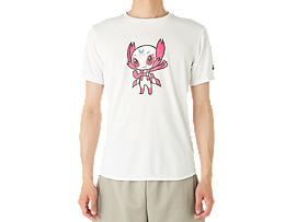 マスコットTシャツ(東京2020パラリンピックエンブレム), ホワイト