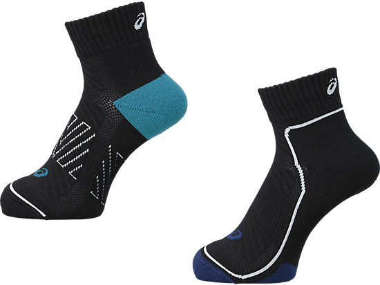 SOCKS 13 (2 SET) BLACK