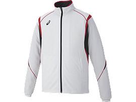 トレーニングジャケット, ホワイトxレッド