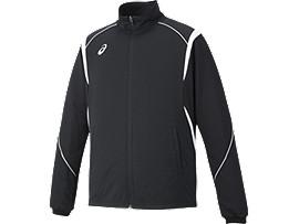 トレーニングジャケット, ブラックxホワイト