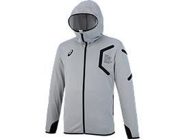 トレーニングフーデッドジャケット, ミディアムシルバー杢