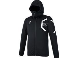 トレーニングフーデッドジャケット, ブラック