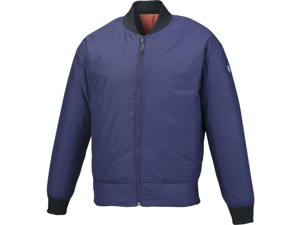 ウオーマージャケット:アストラルブルー