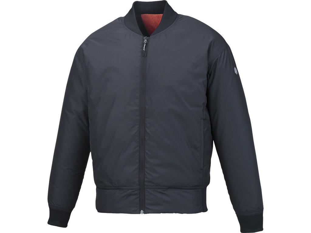 ウオーマージャケット:ブラック