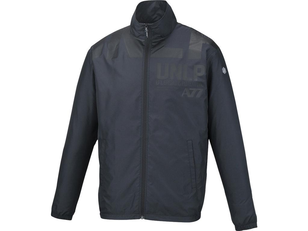 ウインドジャケット:ブラックxブラック