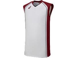 ゲームシャツ, ホワイト×ストロングレッド