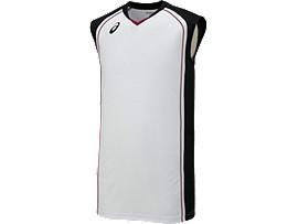 ゲームシャツ, ホワイトxブラック