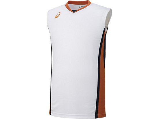 ゲームシャツ, ホワイトxオレンジ