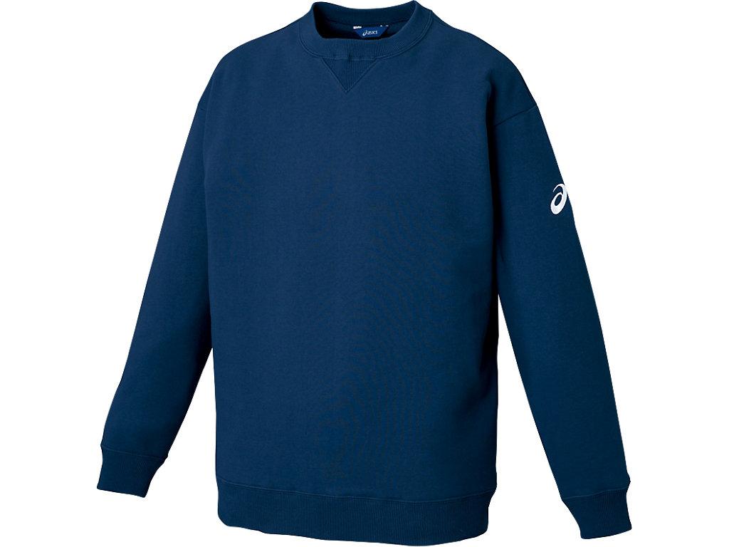 スウェットシャツ:ネイビー