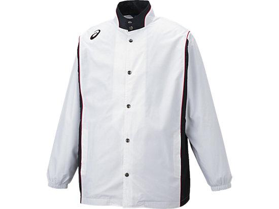 ウオームアップジャケット, ホワイト