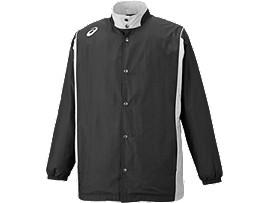 ウオームアップジャケット, ブラック×ストーングレー
