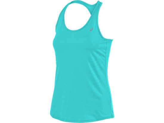 Crossback Tank Turquoise 3