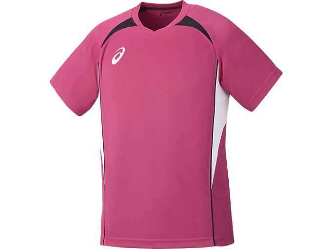 ゲームシャツ ハーフスリーブ, B ピンク