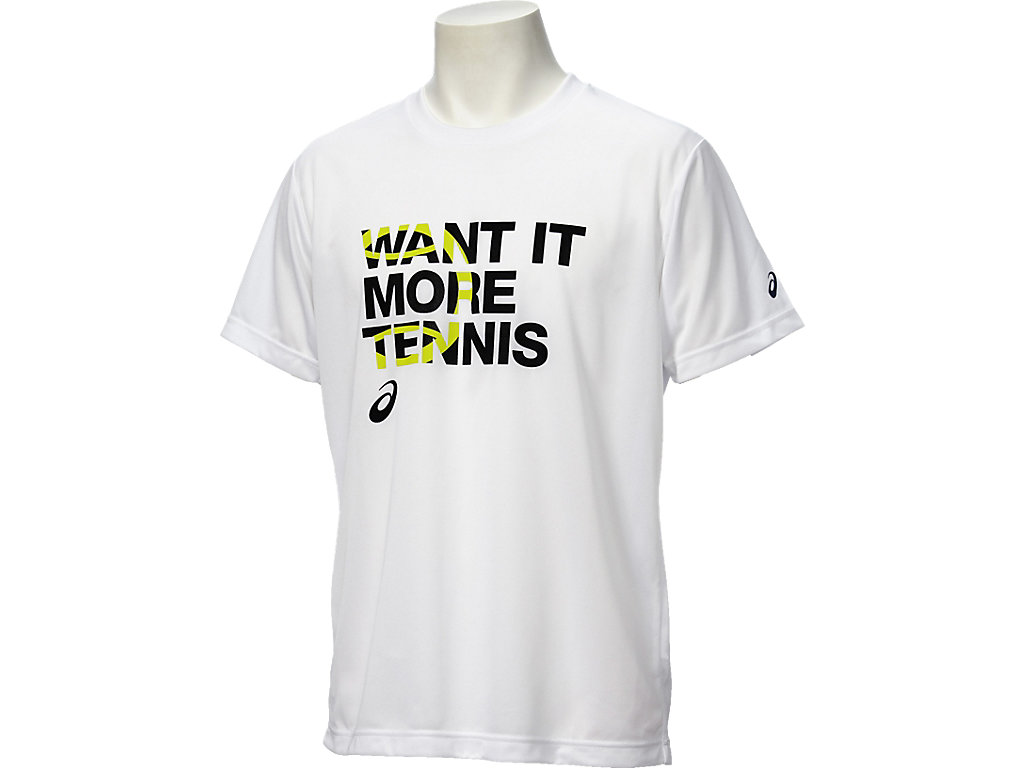 【ASICS/アシックス】 Tシャツ ホワイト_XL6180